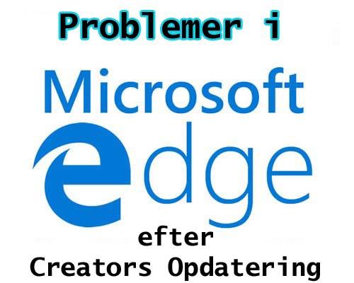 Microsoft Edge Browser sidder fast