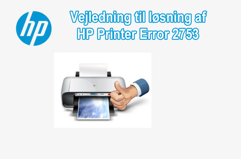 løse Error 2753 HP Printer Error