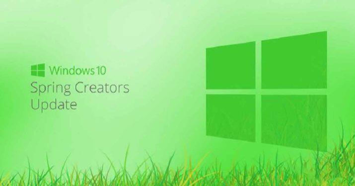 hvordan man installerer Windows 10 Spring Creators Update