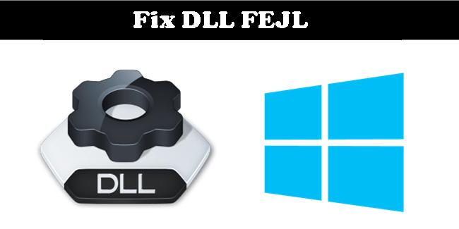 reparer DLL fejl