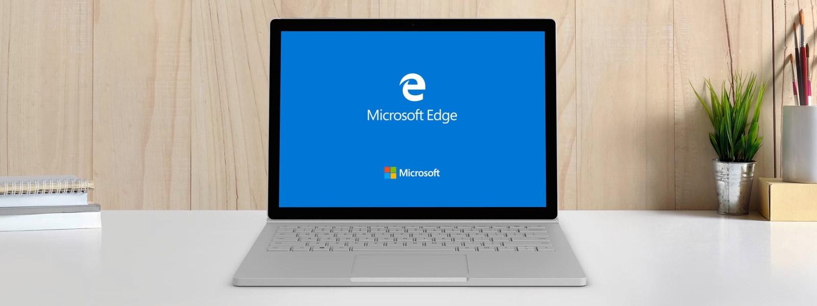 gør Microsoft Edge hurtig og sikker Microsoft Edge