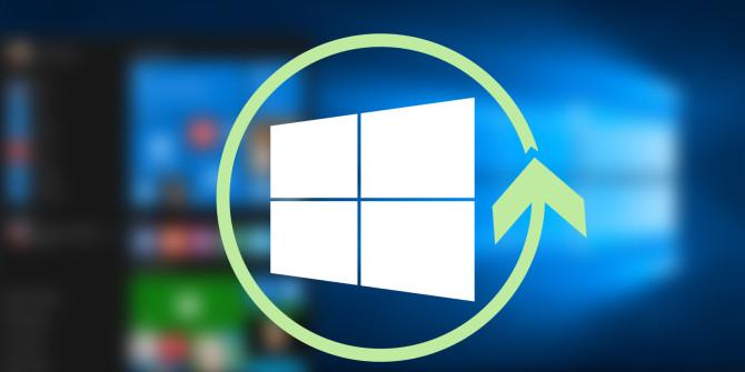 Windows 10 geninstallationsproces