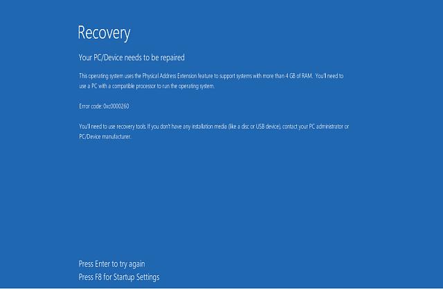 reparation 'Støvle Konfiguration Datafil mangler' Fejl i Windows 10